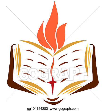 Bible clipart sketch. Drawing open with a
