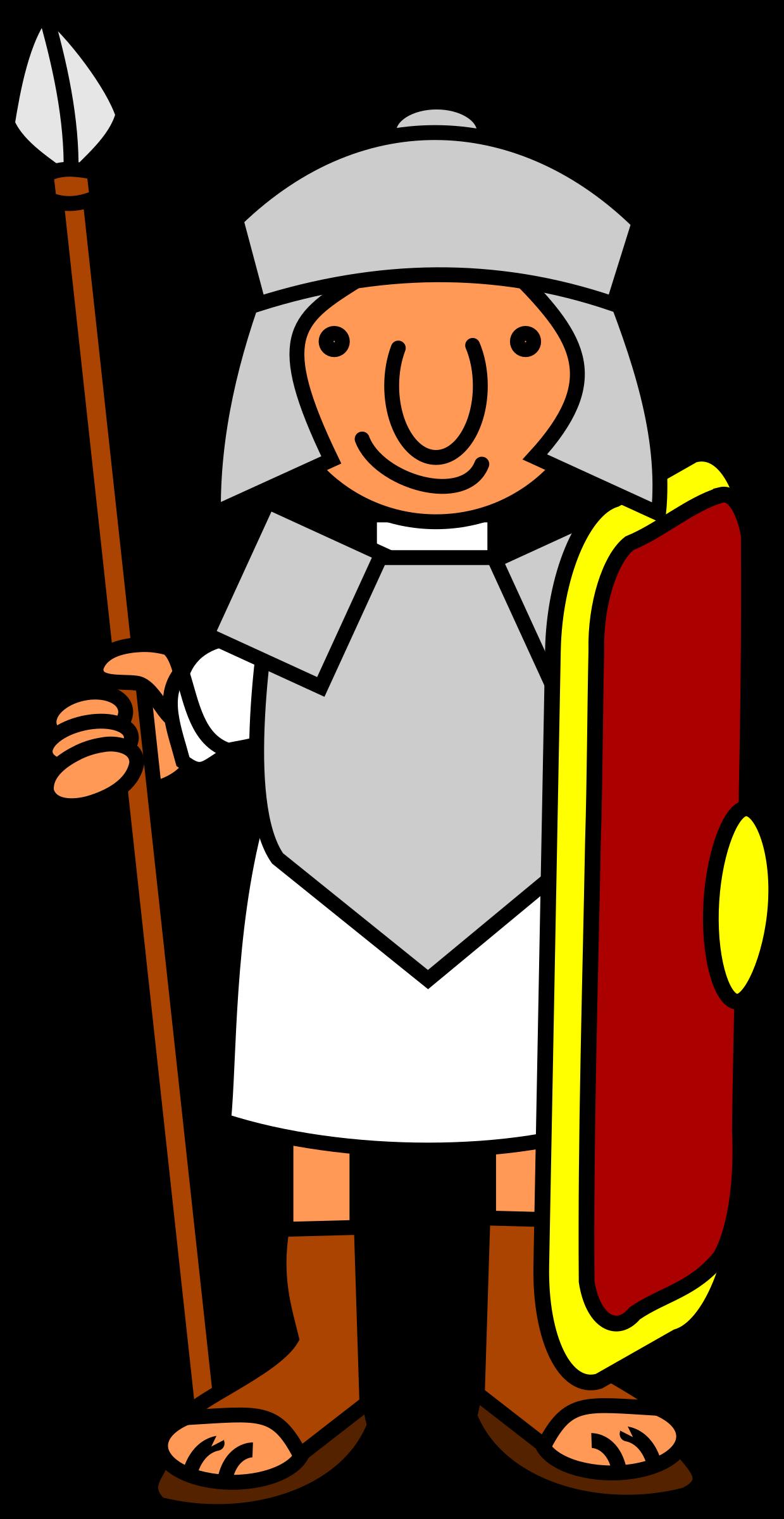 Roman soldier big image. Soldiers clipart foji