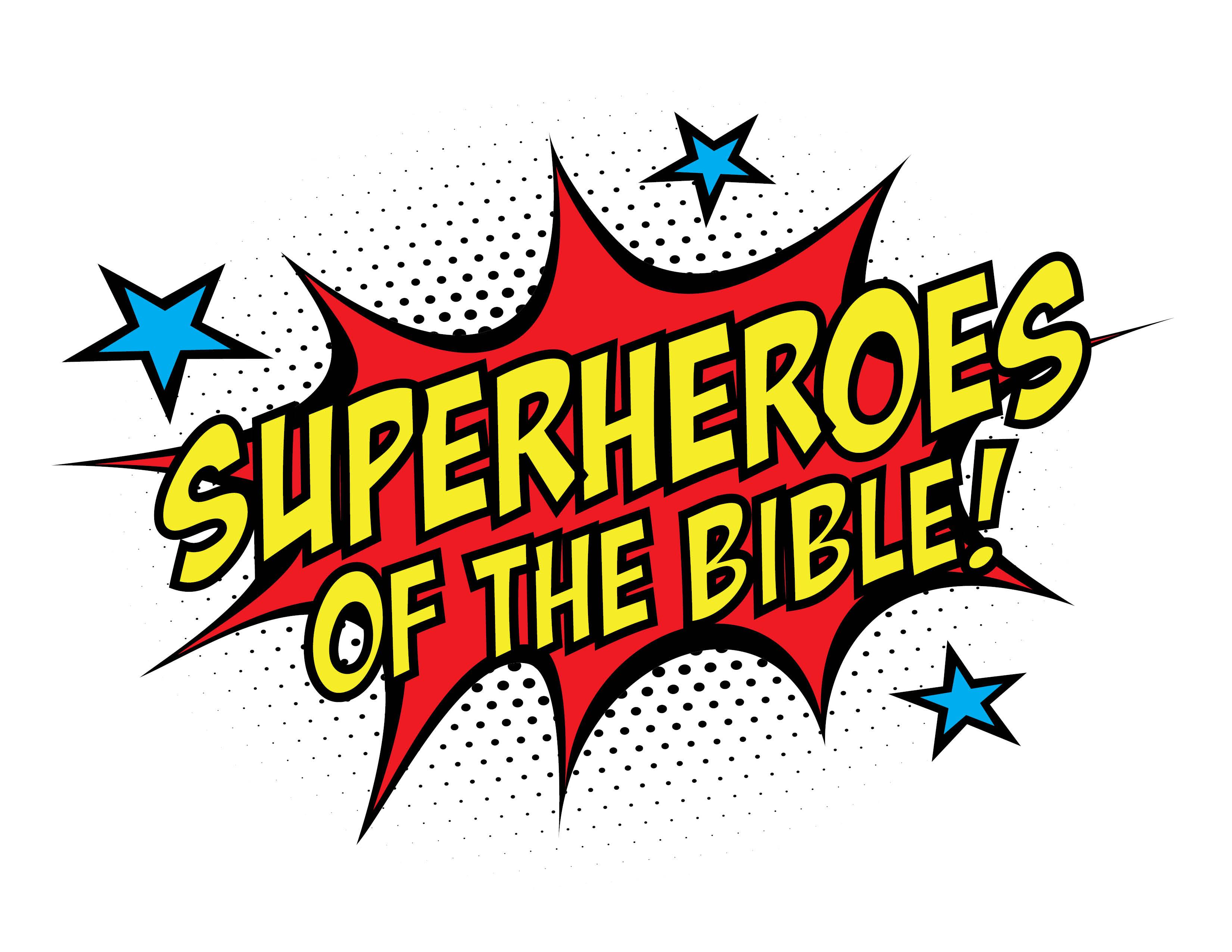 Vbs superheroes of the. Clipart bible superhero