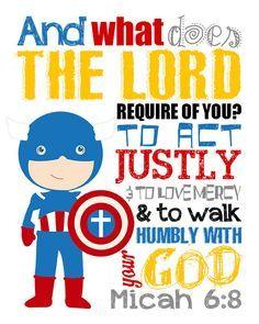 Clipart bible superhero. Captain america christian wall