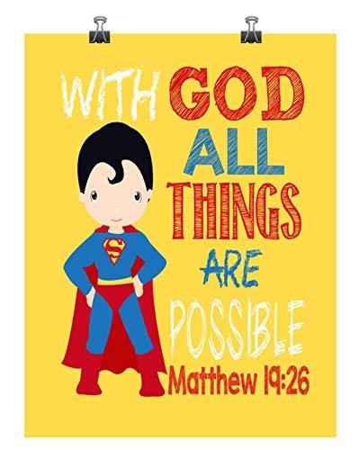 Bible clipart superhero. Amazon com superman christian