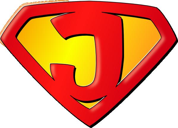God is my super. Bible clipart superhero