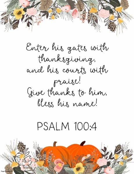 Quotes from make a. Bible clipart thanksgiving