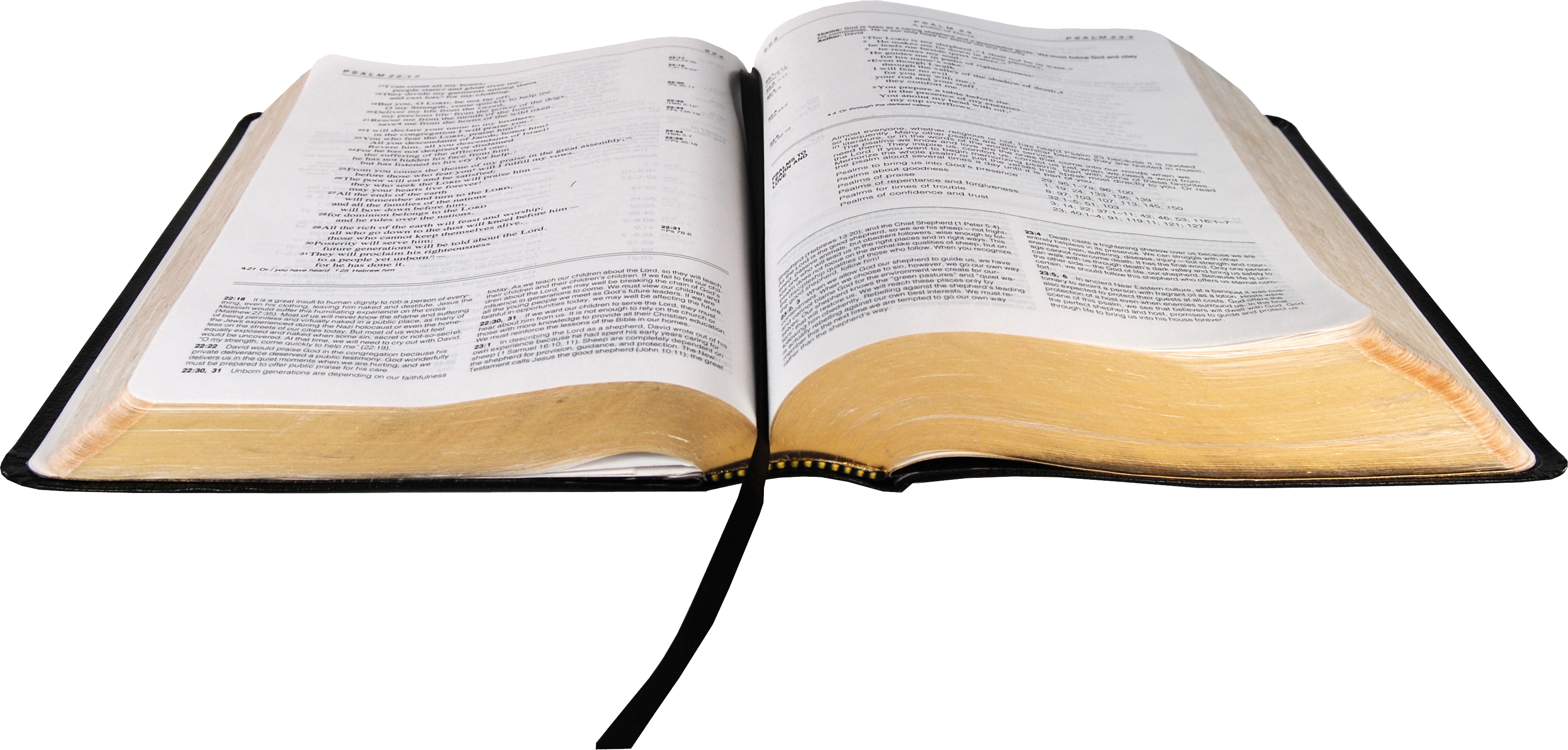 Open . Bible png images