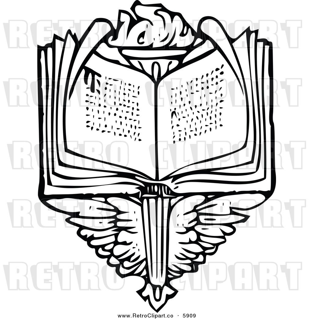 and clip art. Torch clipart torch book