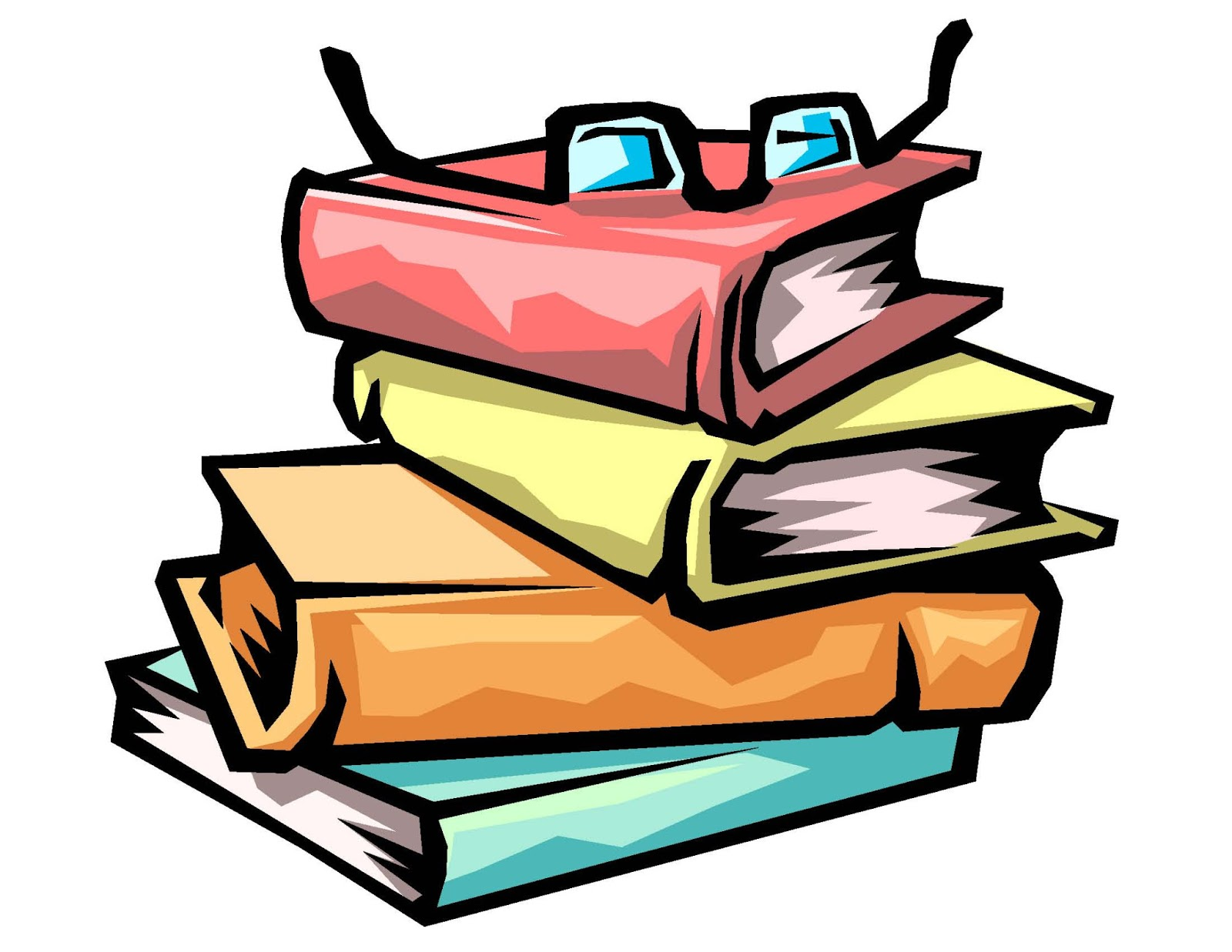 School work . Bibliography clipart animated