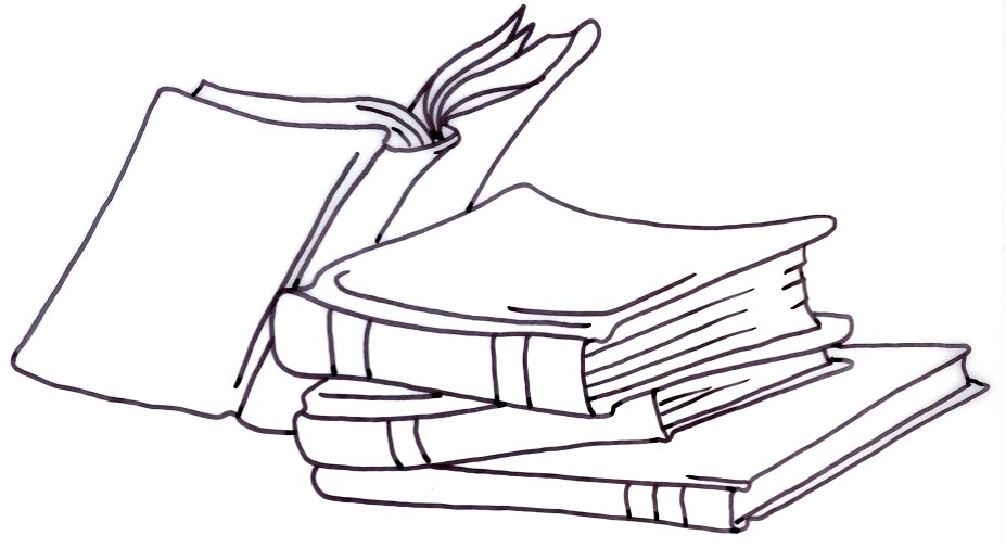 Bibliography clipart black and white.  collection of library