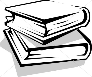 collection of library. Bibliography clipart black and white