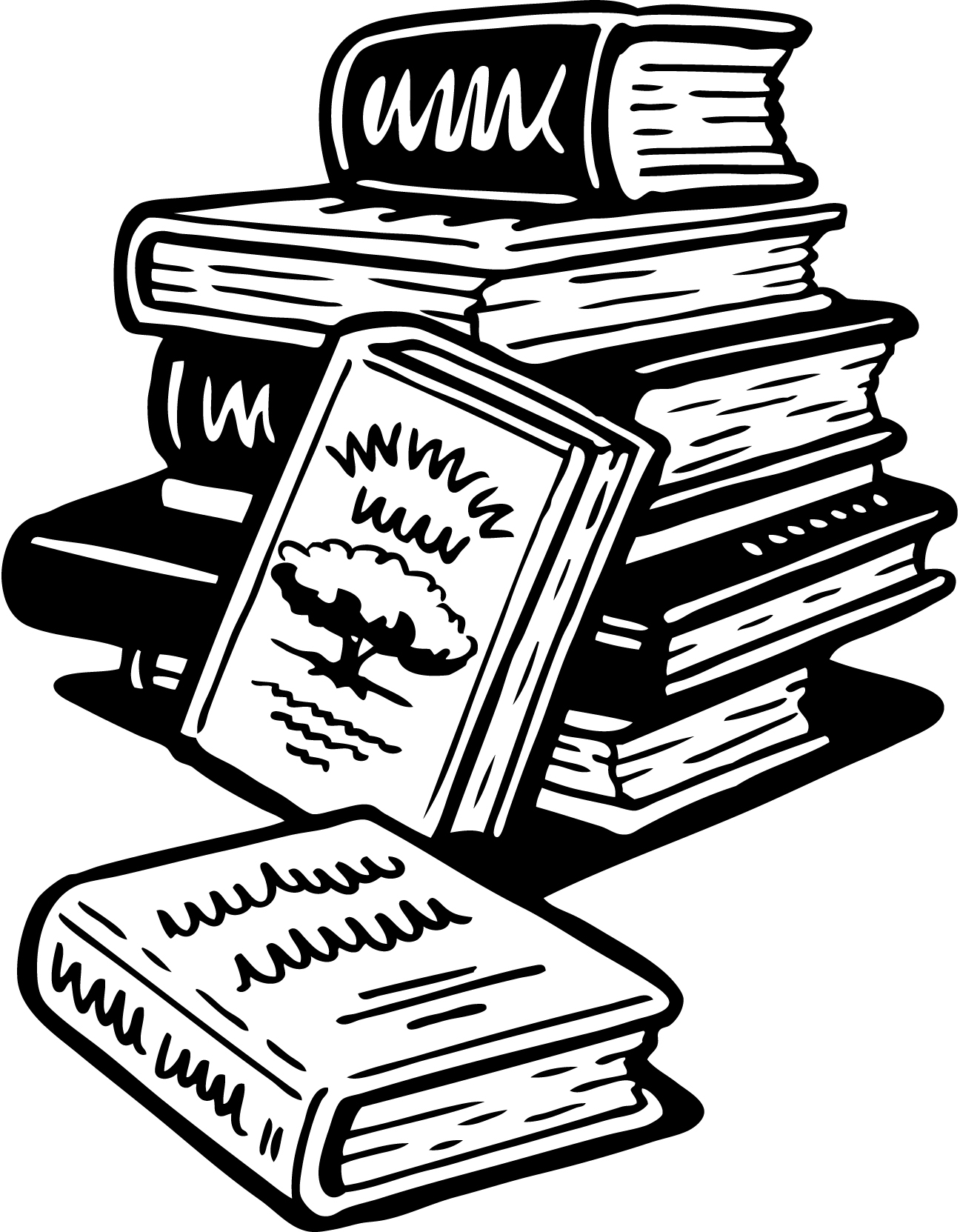 An updated grim postmortem. Bibliography clipart black and white