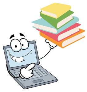 Bibliography clipart book computer. Library susan senger help
