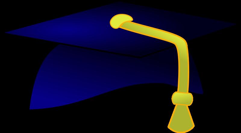 College major ilug cal. Education clipart hat