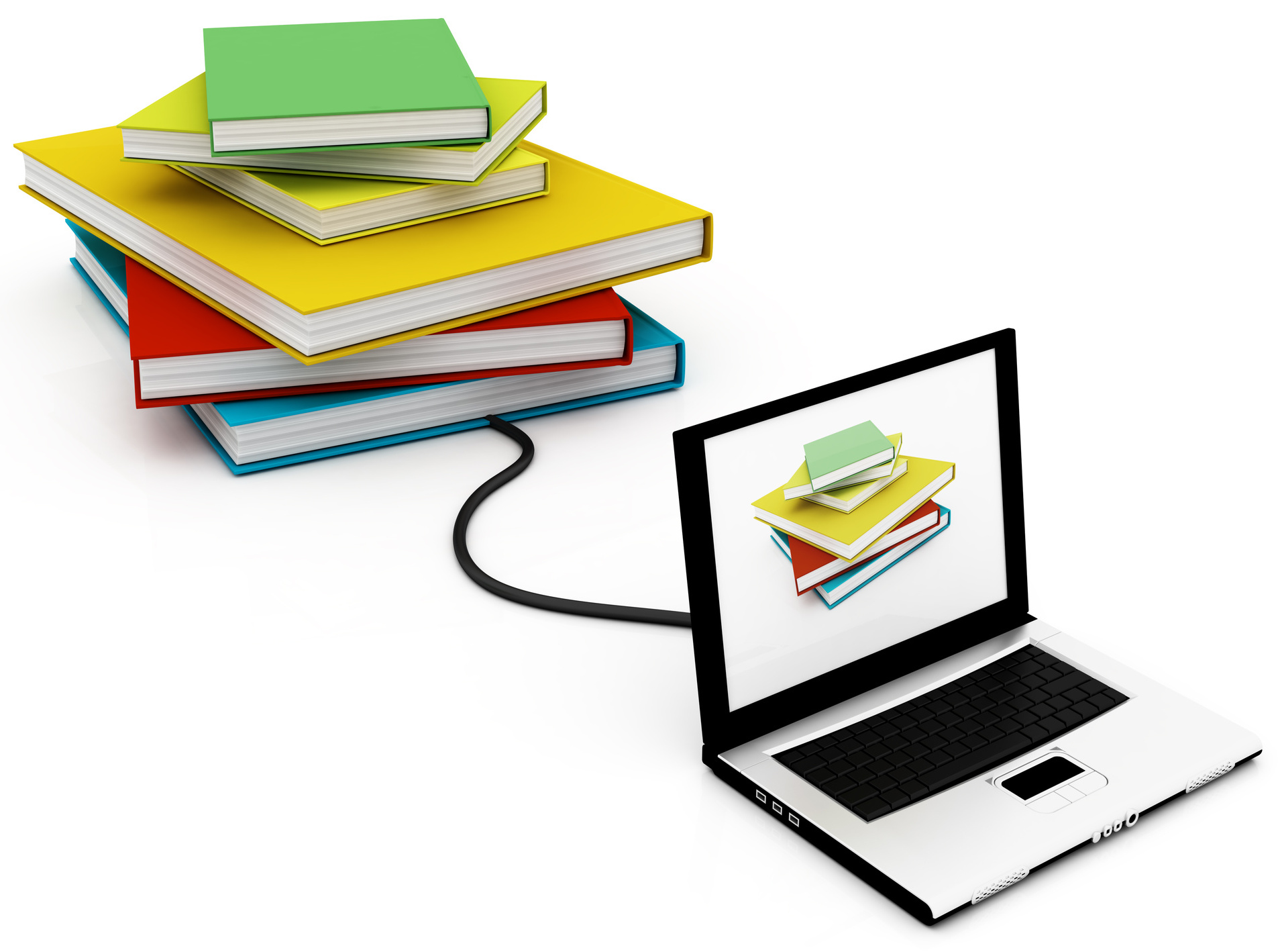 bibliography clipart computer education #31208813