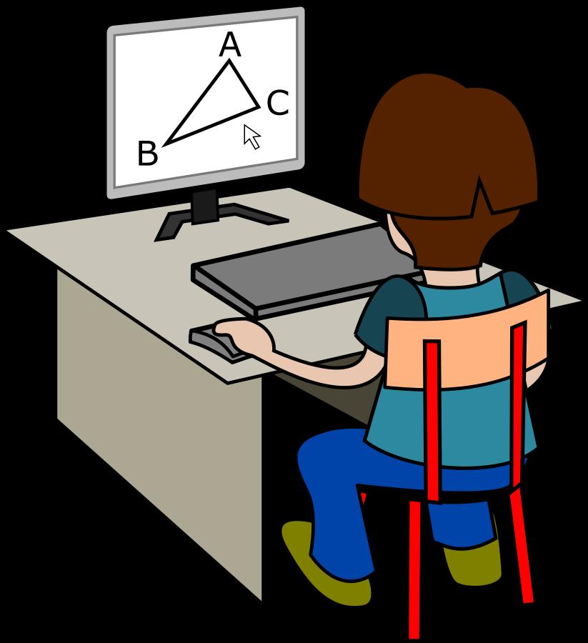 Clip art online free. Clipart desk testing