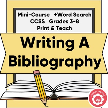 Bibliography clipart computer resource. Library skills bibliographies teachers