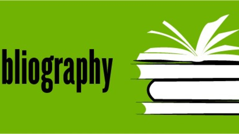 How to write a. Bibliography clipart contents page