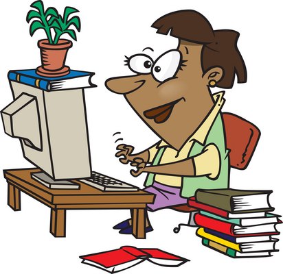 Bibliography clipart coursework.  days to a