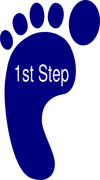 Footsteps clipart first step. Bibliography argument essay uwsslec