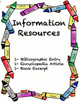 Louisiana information resources encyclopedia. Bibliography clipart excerpt