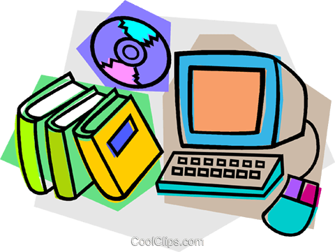 Free books cliparts download. Bibliography clipart library computer