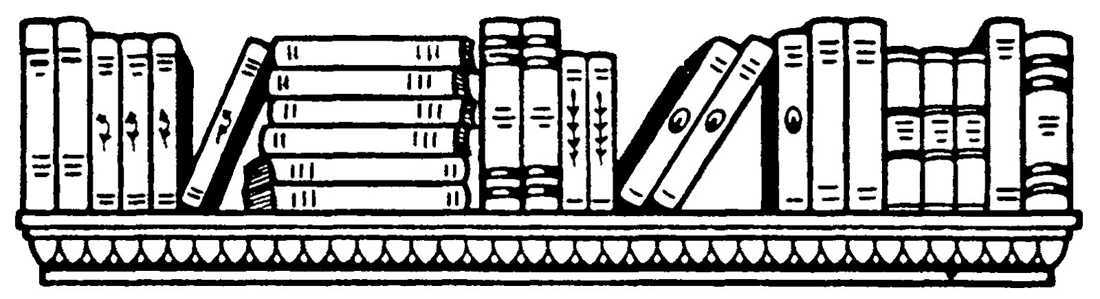 Bibliography clipart mystery book. Books reading scattered thoughts