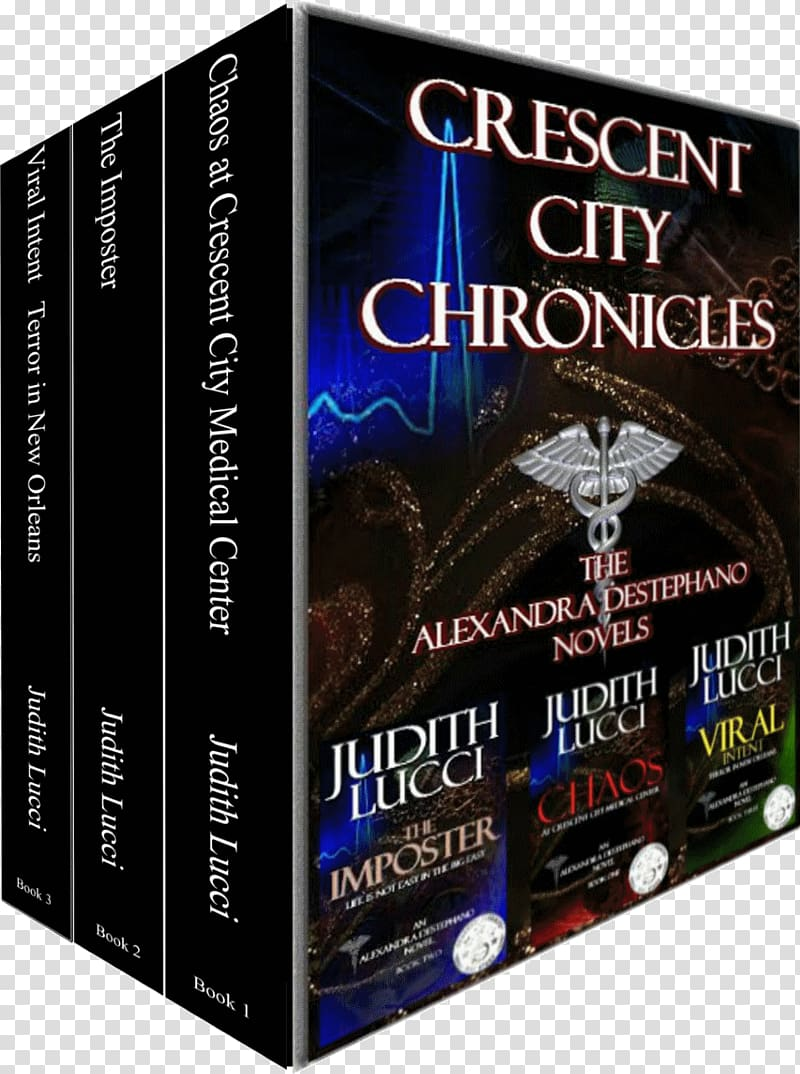 Crescent city chronicles the. Bibliography clipart mystery book