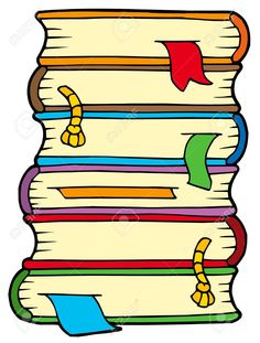 Stacks of books google. Bibliography clipart nursing book