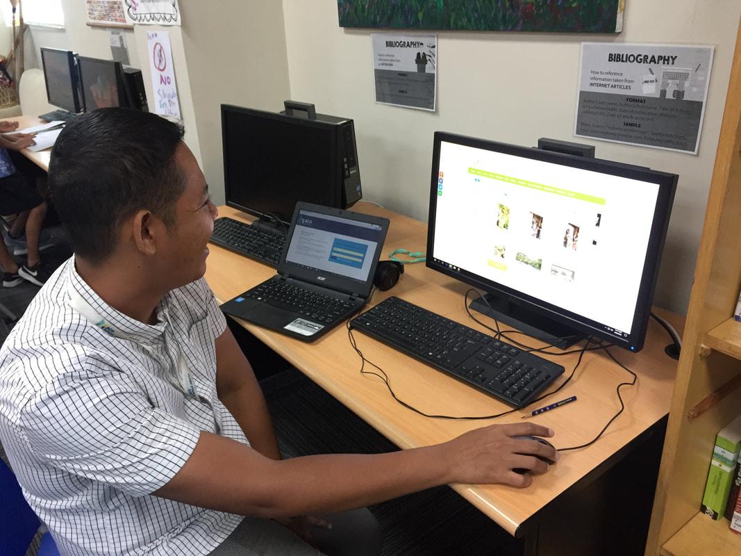 Acg jakarta library blog. Bibliography clipart school computer