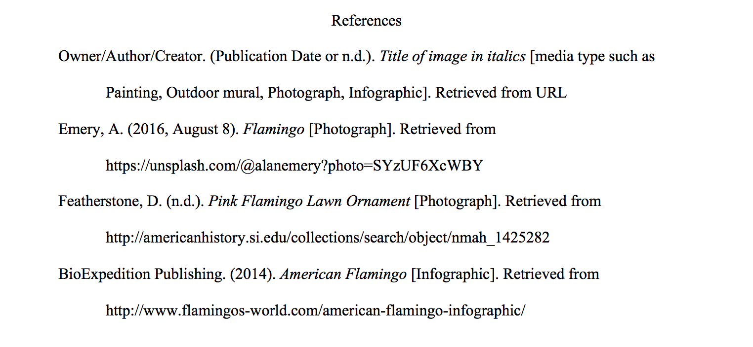 Apa image basic website. Bibliography clipart search engine