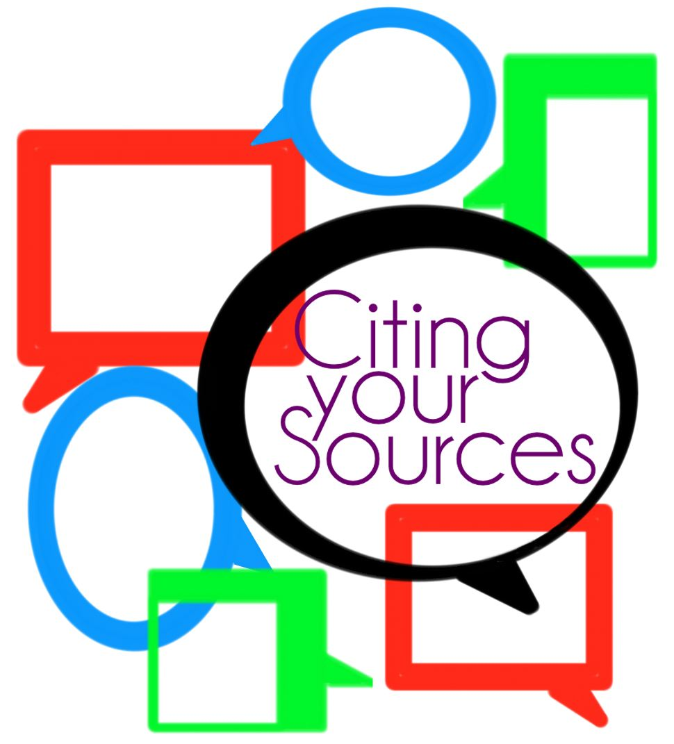 Sources cited incep imagine. Bibliography clipart source
