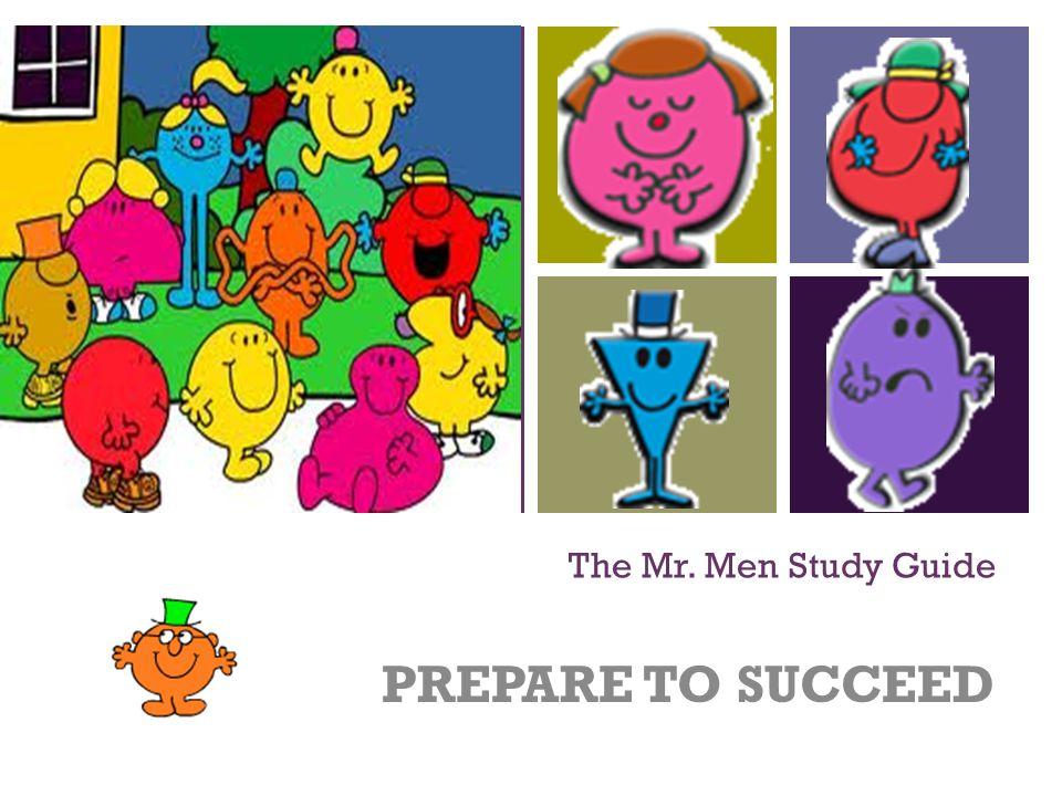 The mr men prepare. Bibliography clipart study guide
