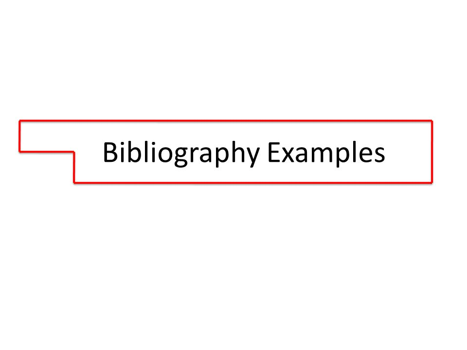Examples of basic . Bibliography clipart table contents