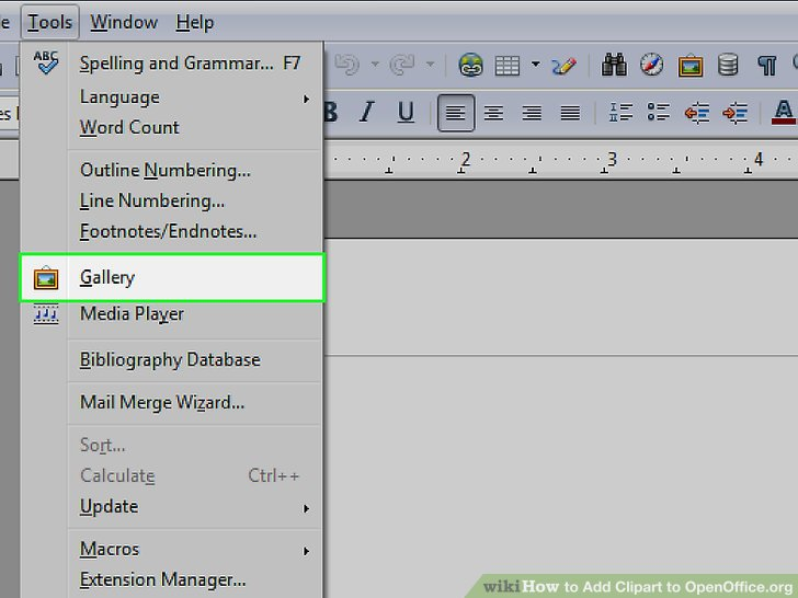 Bibliography clipart word. How to add openoffice