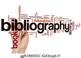 Bibliography clipart word. Stock photos gograph