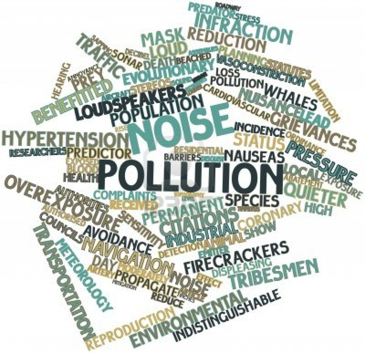 Bibliography on Noise Pollution