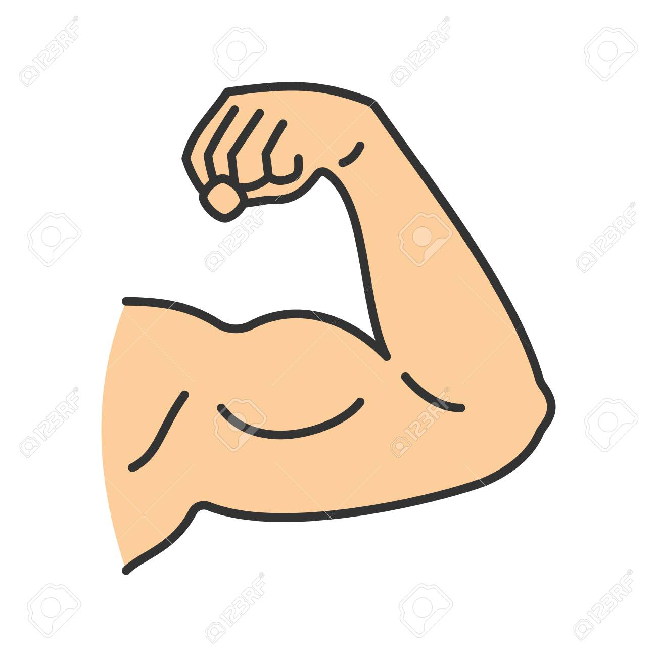 Cliparts free download clip. Bicep clipart