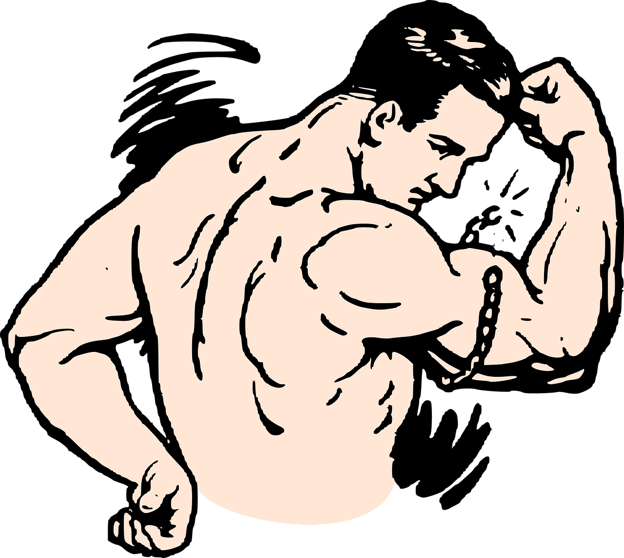 This is why your. Dumbbell clipart muscular strength exercise