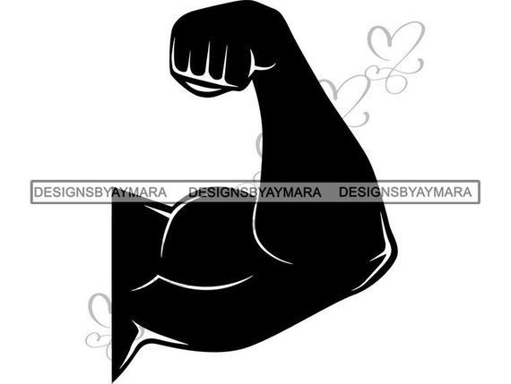 Biceps bodybuilder weightlifter workout. Bicep clipart big arm