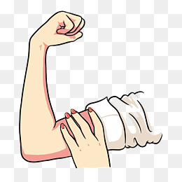 Biceps png images vectors. Bicep clipart female