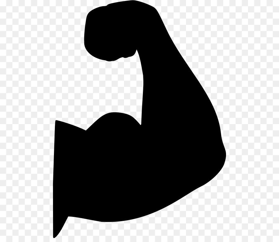 Hand cartoon muscle transparent. Bicep clipart flexing