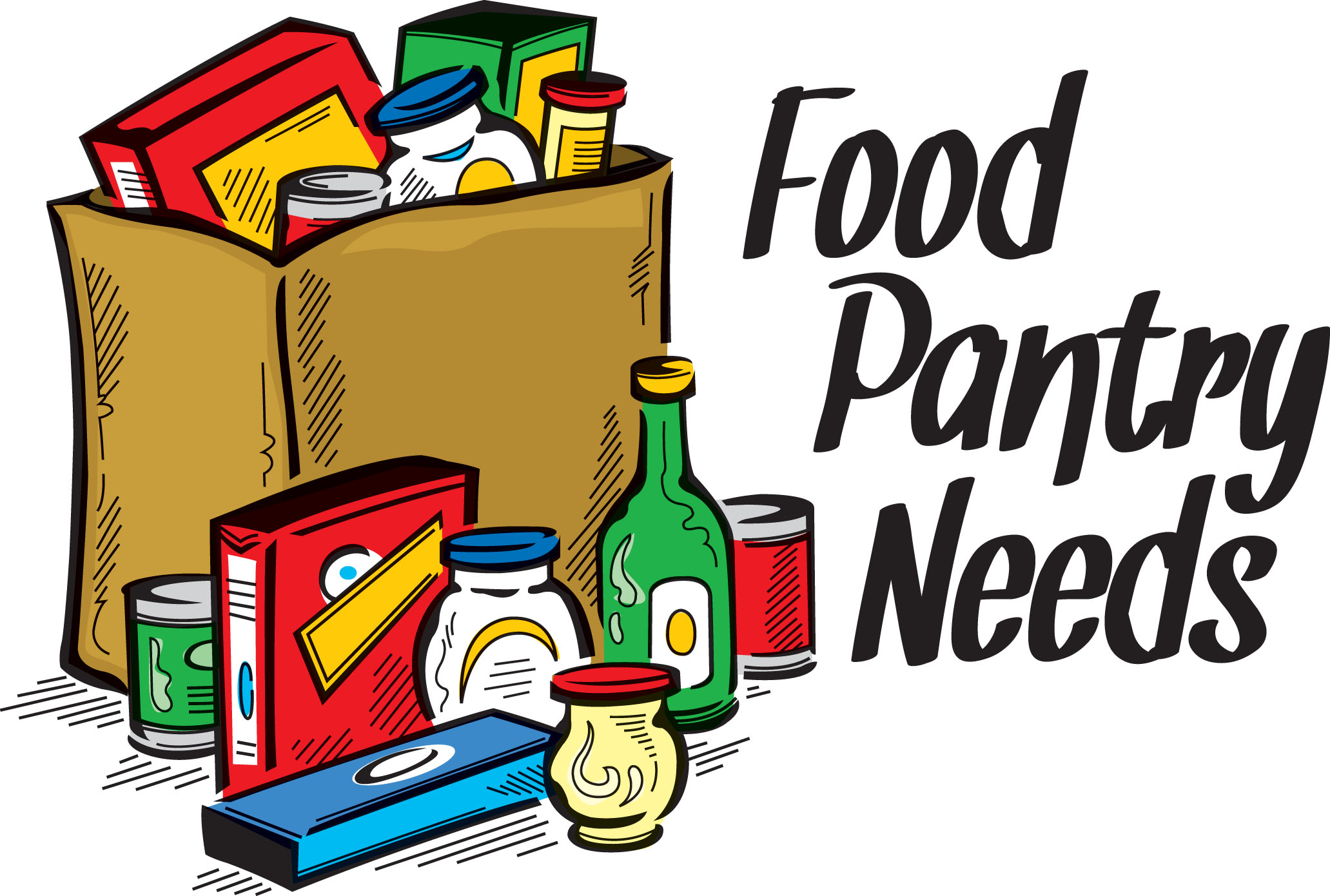Grocery clipart food bank. Hotel italian free collection