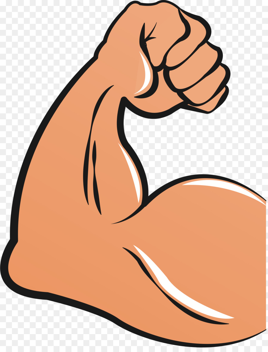 Biceps arm clip art. Bicep clipart muscle hand