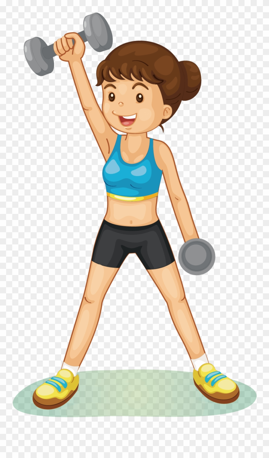 And in presentations best. Dumbbell clipart sport training