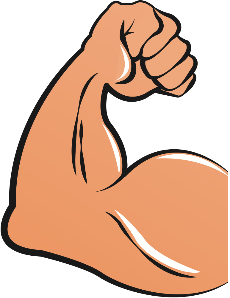 Bicep strong fist