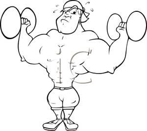 Drawing at getdrawings com. Bicep clipart strong man