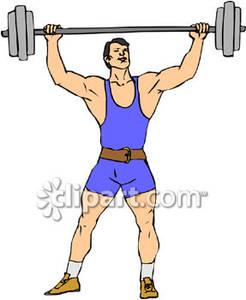 Bicep clipart strong man.  clip art clipartlook
