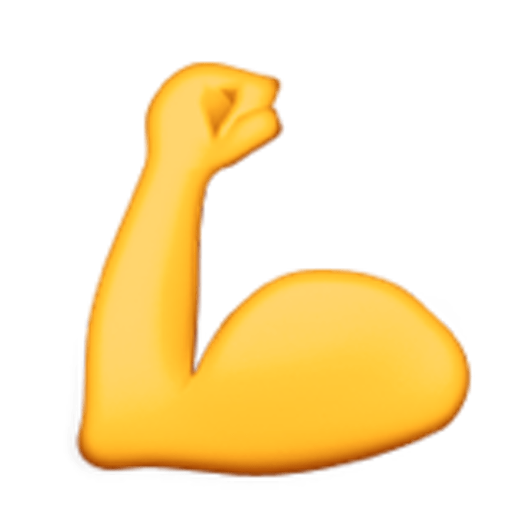 Bicep muscle transparent png. Hand clipart muscular