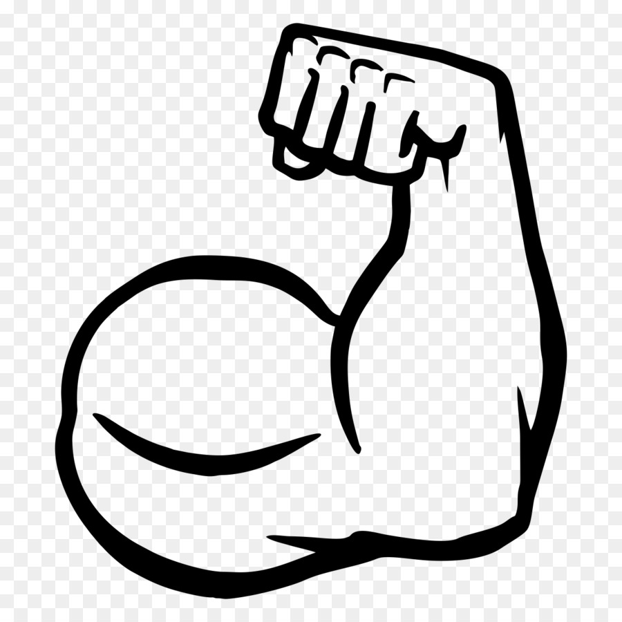 Muscles clipart. Muscle arms biceps clip