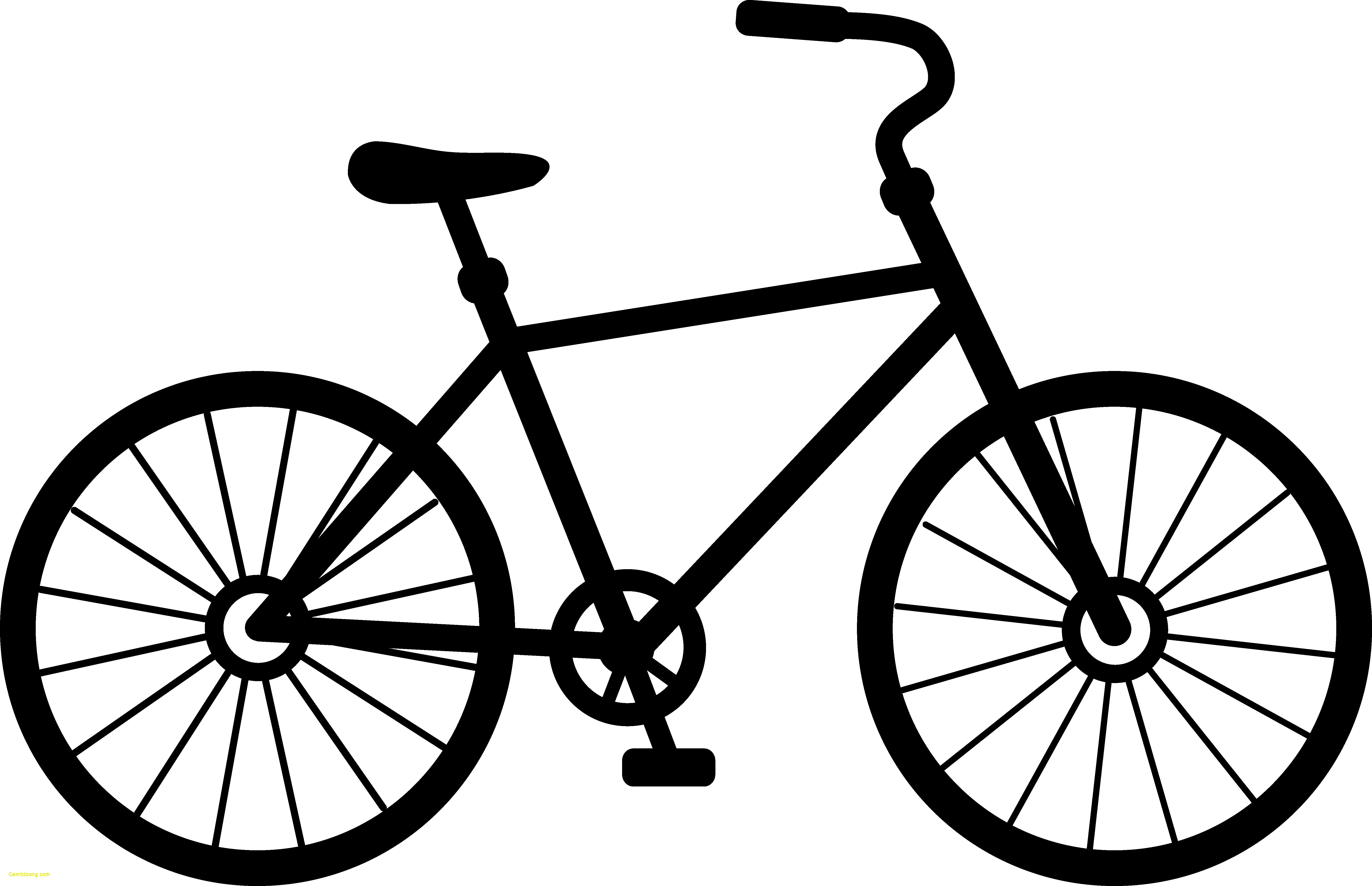 Bicycle clipart. Clip art silhouette at