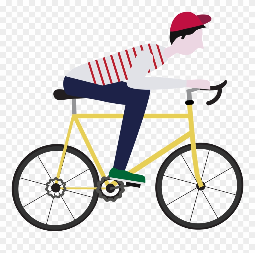 Bike clipart animated. Freeuse transparent riding bicycle