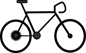 Animated free download best. Clipart bicycle small bike